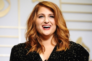 You know, she looks, just, so tired. It's probably the first one. Poor Meghan Trainor.