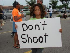Aw, man, kid, it's like you're ASKING to get shot by asking NOT to get shot.