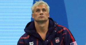 """Buh?"" ... is my go-to sound effect for all Ryan Lochte photos."