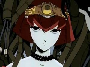 You look into her cold dead eyes and tell her she needs a code name, why not.