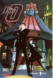 I really enjoy noir-ish anime featuring giant robots, Japanese Batman and the best lady android ever.