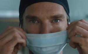 You've got surgically masked Benedict Cumberbatch...