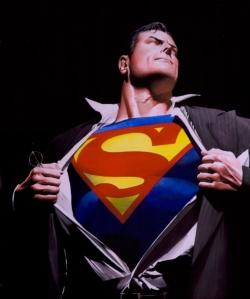 Because, he's, you know, ha, ha, the Man of Steel?